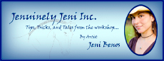 Jenuinely Jeni Inc tips tricks and tales from the workshop by artist Jeni Benos
