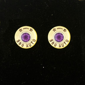 .380 Auto Earrings By Jenuinely Jeni