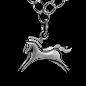 Horse Charm Bracelet