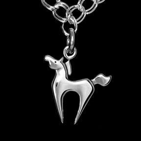 Sagittarius Pony Charm Bracelet ©
