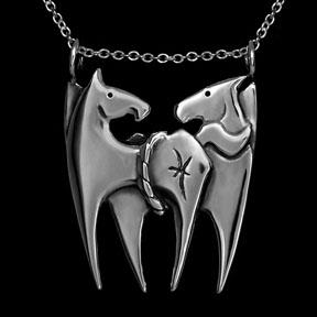 Zodiac Pony Pisces Necklace ©