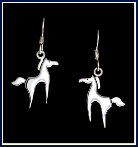 Aries Horse Earrings ©