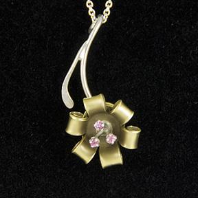 bullet flower jewelry