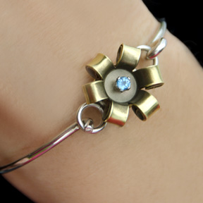 Pistol Petals Patented Bullet Flower Jewelry