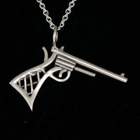 revolver necklace by Jenuinely Jeni