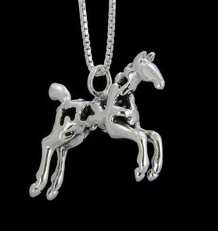 Sadie ©, Paint Horse Necklace